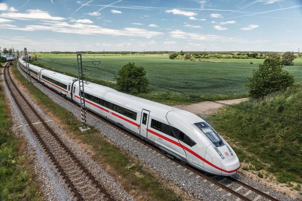 Major order – Siemens is building the ICE 4 for Deutsche Bahn.