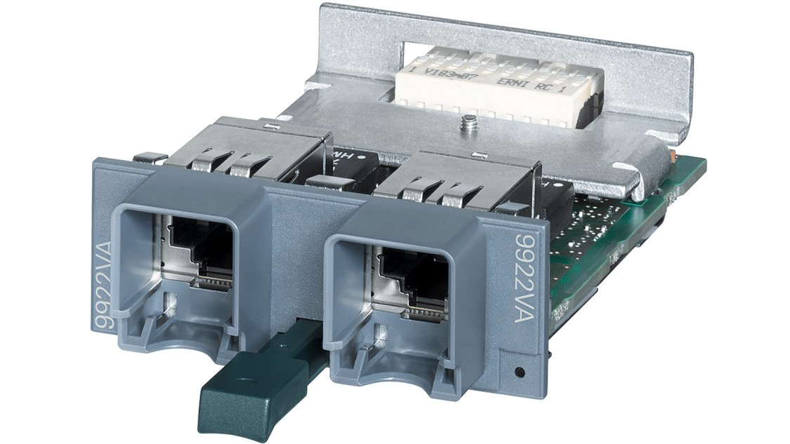 The MM992-2VD 2-port media module