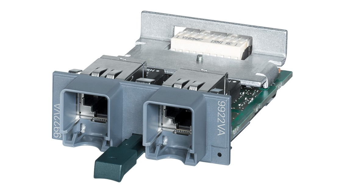 The MM992-2VD two-port media module