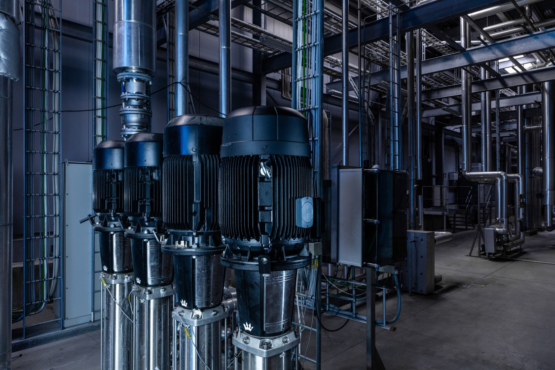 In conjunction with Simotics Connect 400, the operating status of pumps can be reliably monitored digitally using Sidrive IQ Fleet.