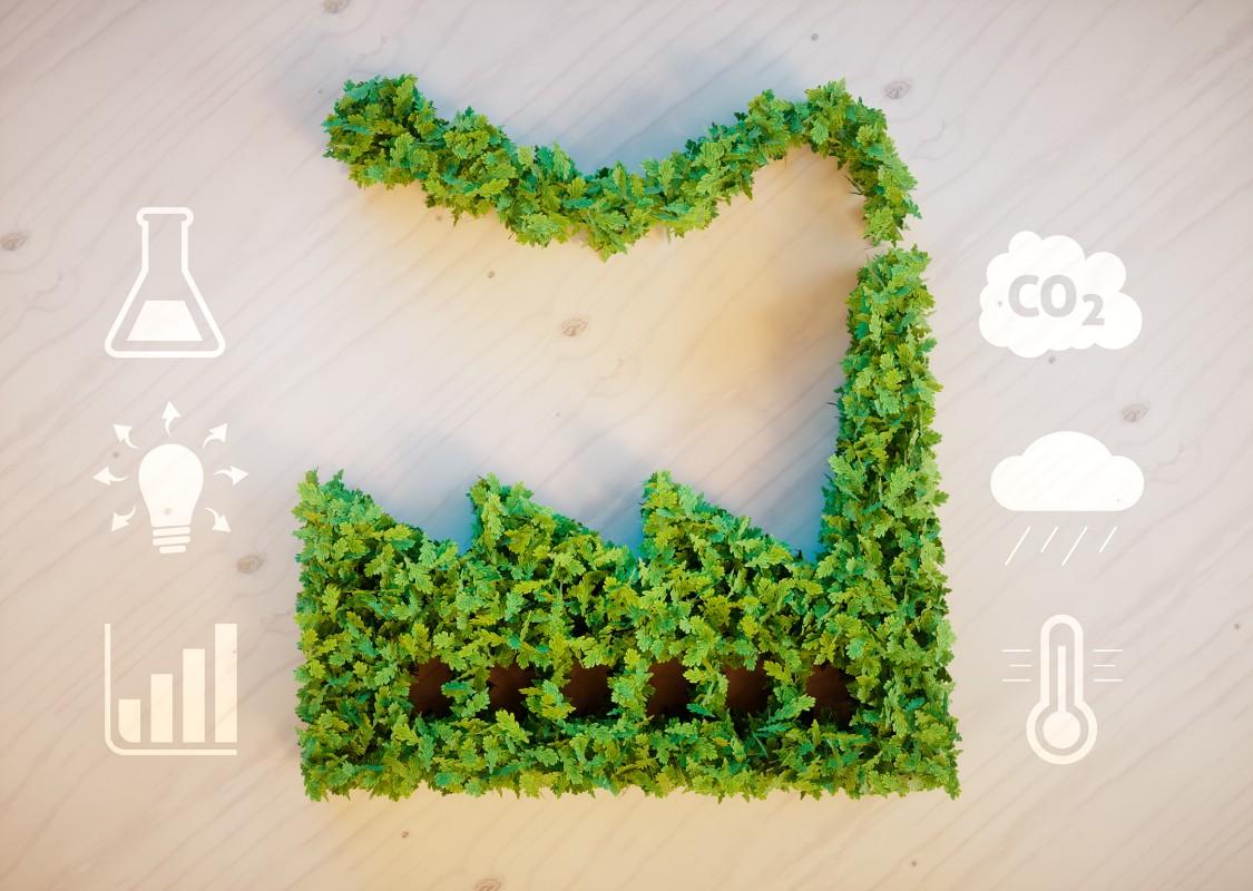 Снижение объема выбросов CO2