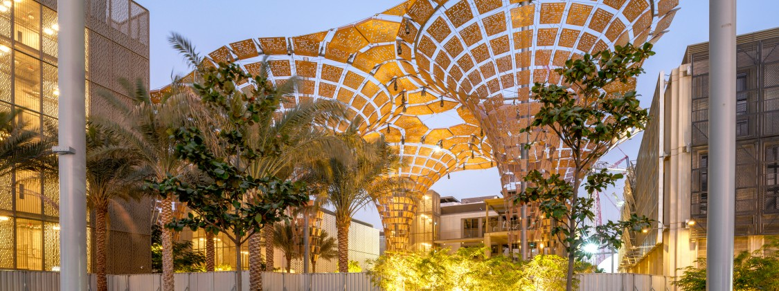 The opportunity district at Expo 2020 Dubai