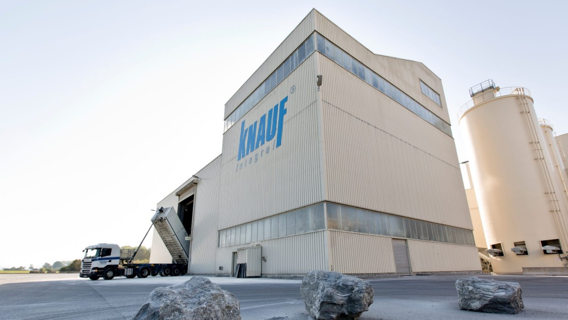 Factory of company Knauf Integral KG in Satteldorf