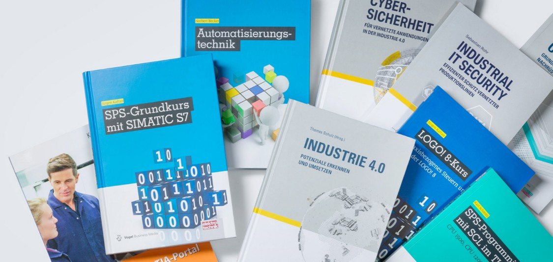 Technical literature for education and training in the area of automation and drive technology