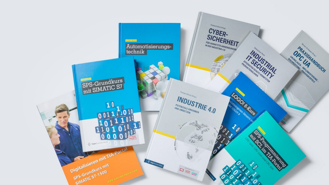Fachliteratur zur Aus- und Weiterbildung im Bereich Automatisierungs- und Antriebstechnik