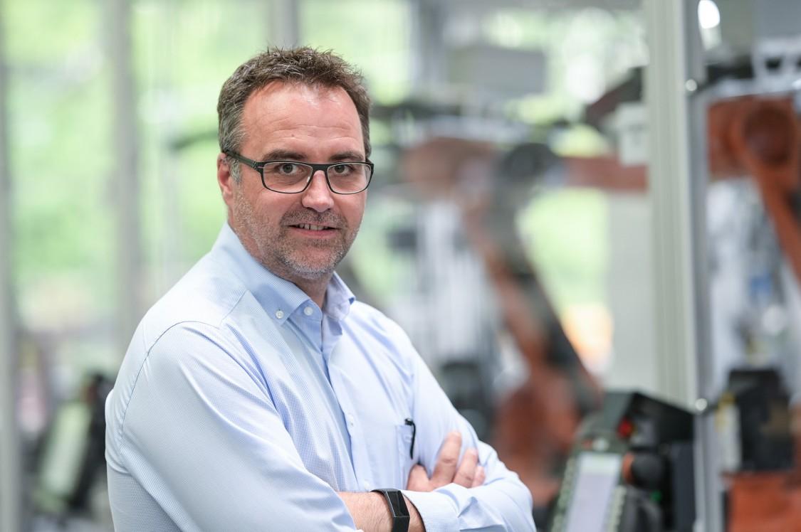 Jörg Pfeiffer, geschäftsführender Gesellschafter bei der Riester GmbH