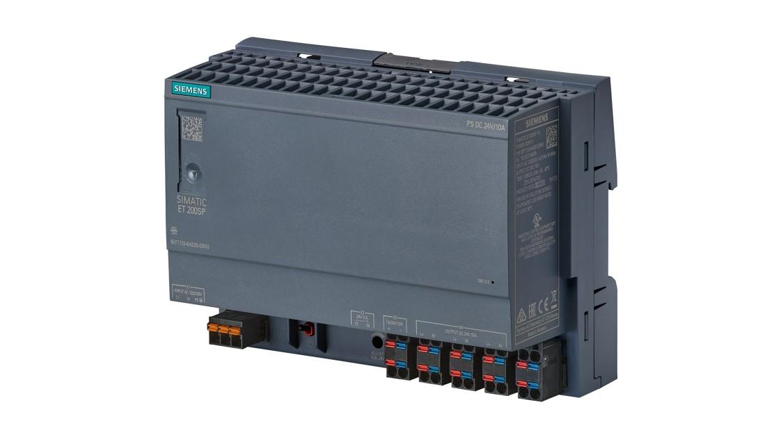 SIMATIC ET 200SP向けに設計された、PS、24 V/10 AのSITOPの製品画像