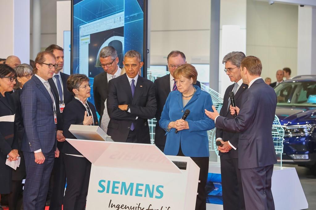 Siemens einen Besuch abstatten