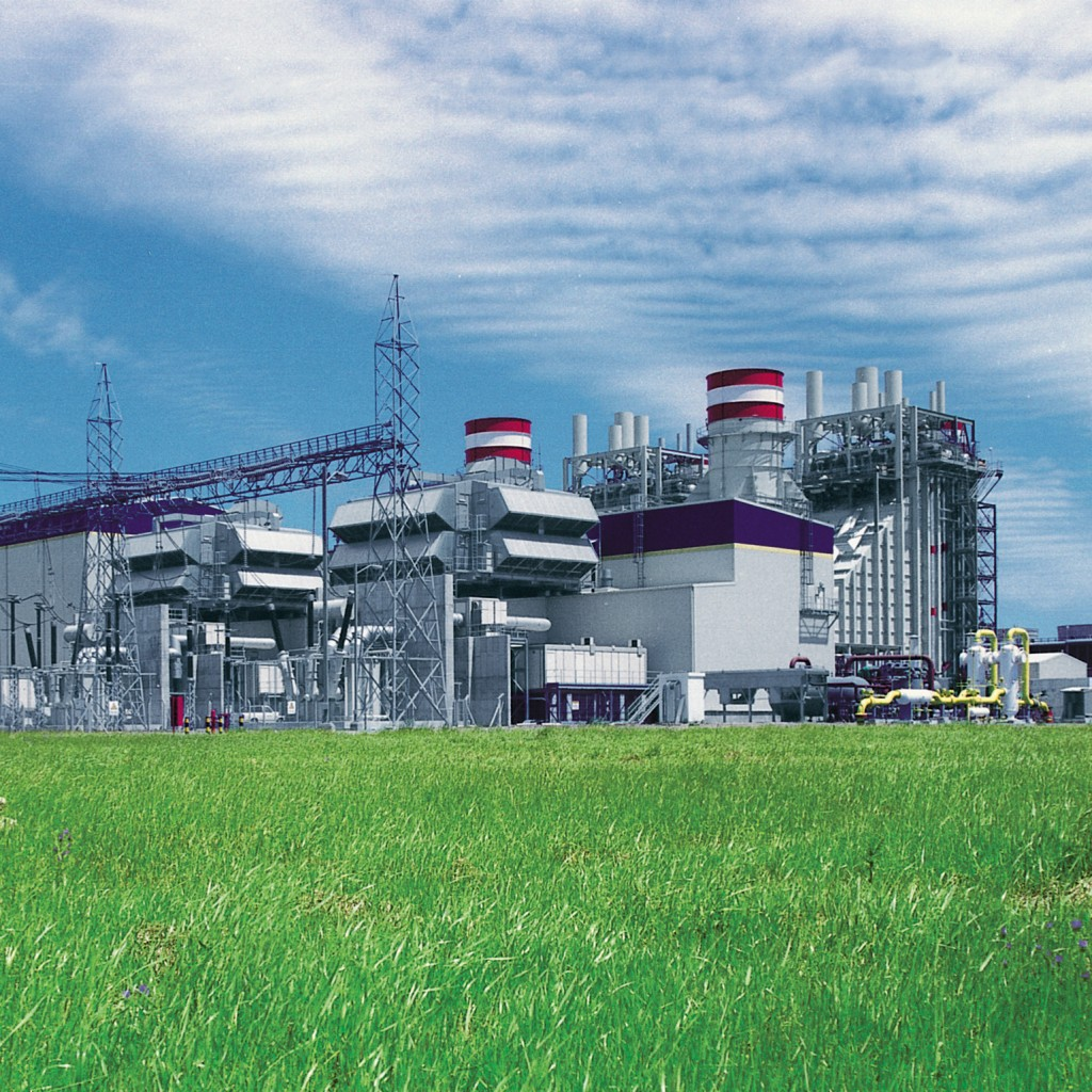 Gaskraftwerks Genelba in Argentinien