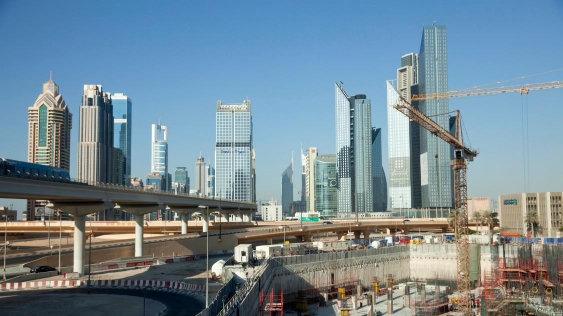 Dubai'nin Jebel Ali alanındaki enerji santralleri