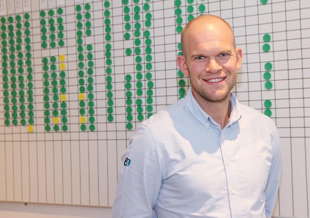 Samuel Lindholm, teknisk mjukvaruchef på Elektroautomatik.