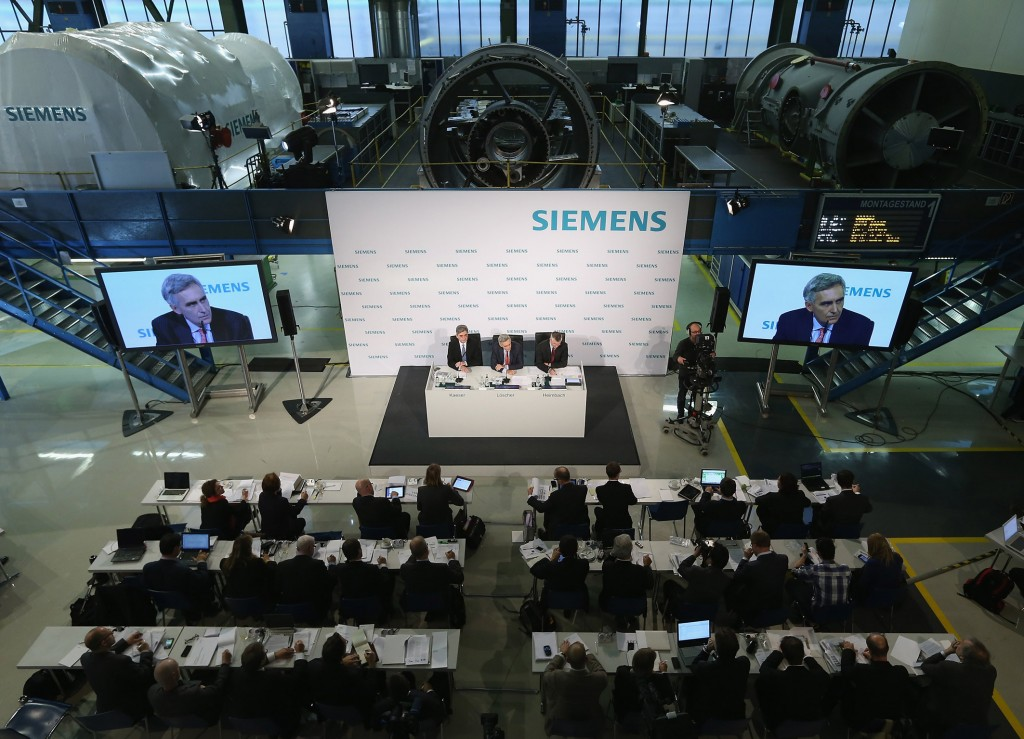 Annual Press Conference 2012: Siemens ends fiscal 2012 with revenue growth and strong profit