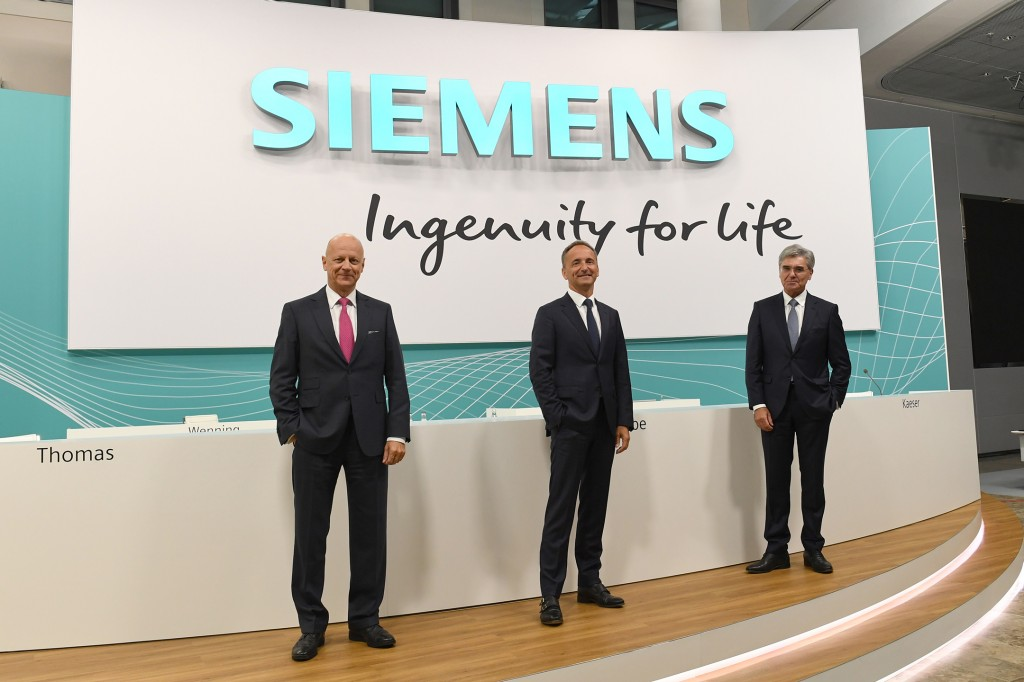 Extraordinary Shareholders' Meeting of Siemens AG 2020