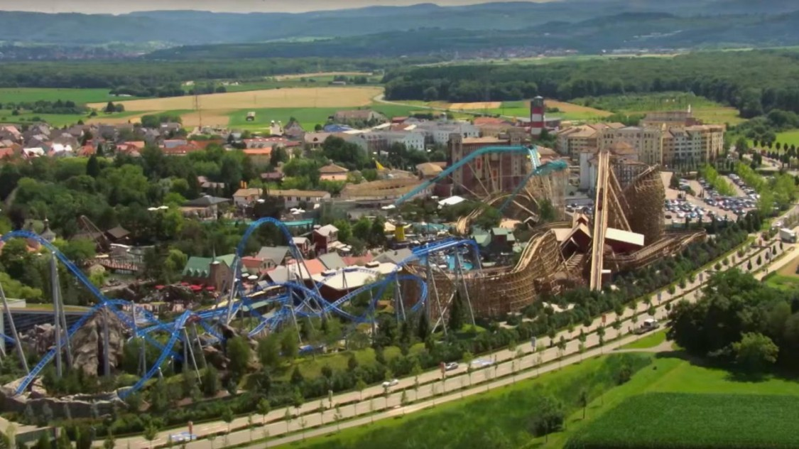 Electrical engineering for the Europapark Rust