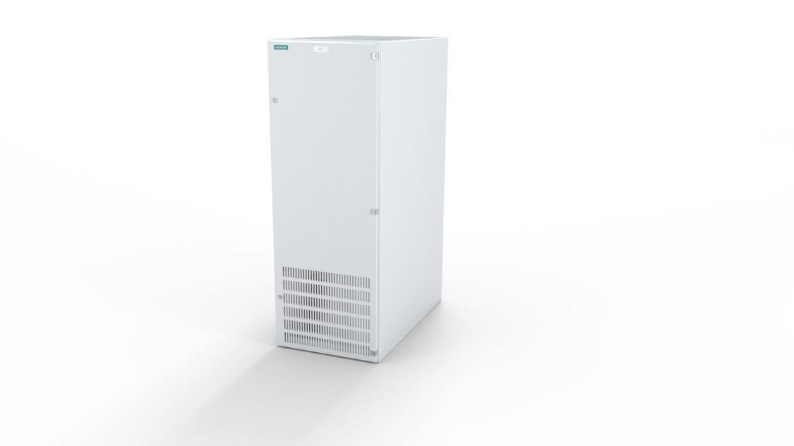 Retificadores de diodos Sitras REC da Siemens para o sistema de alimentação de tração CC