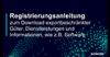 Link zur Registrierungsanleitung zum Download für exportbeschränkte Güter, Dienstleistungen und Informationen, z.B. Software