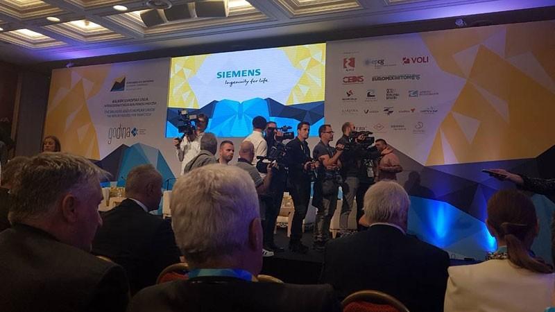 Siemens na Konferenciji o ekonomiji Montenegro 2018