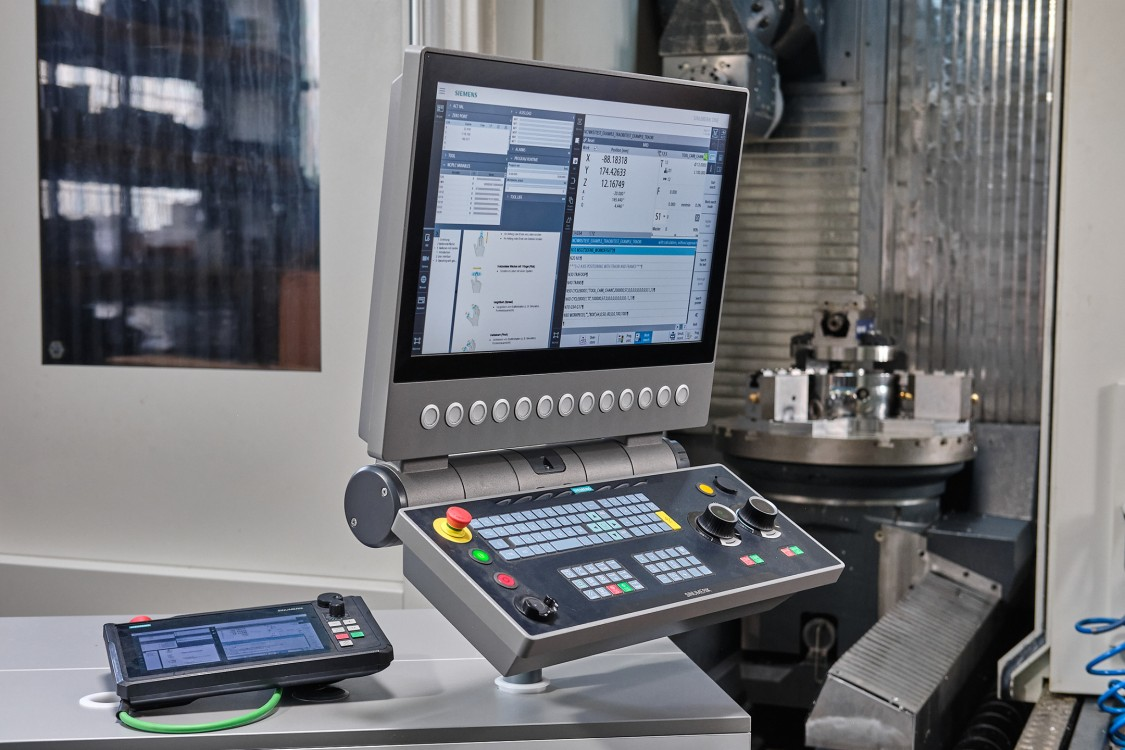 SINUMERIK CNCs cover the entire range of machining technologies