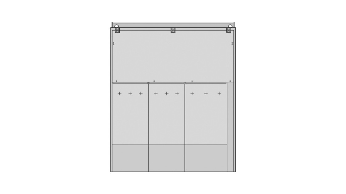 8DJH 36 medium-voltage switchgear outdoor enclosure with up to four sections