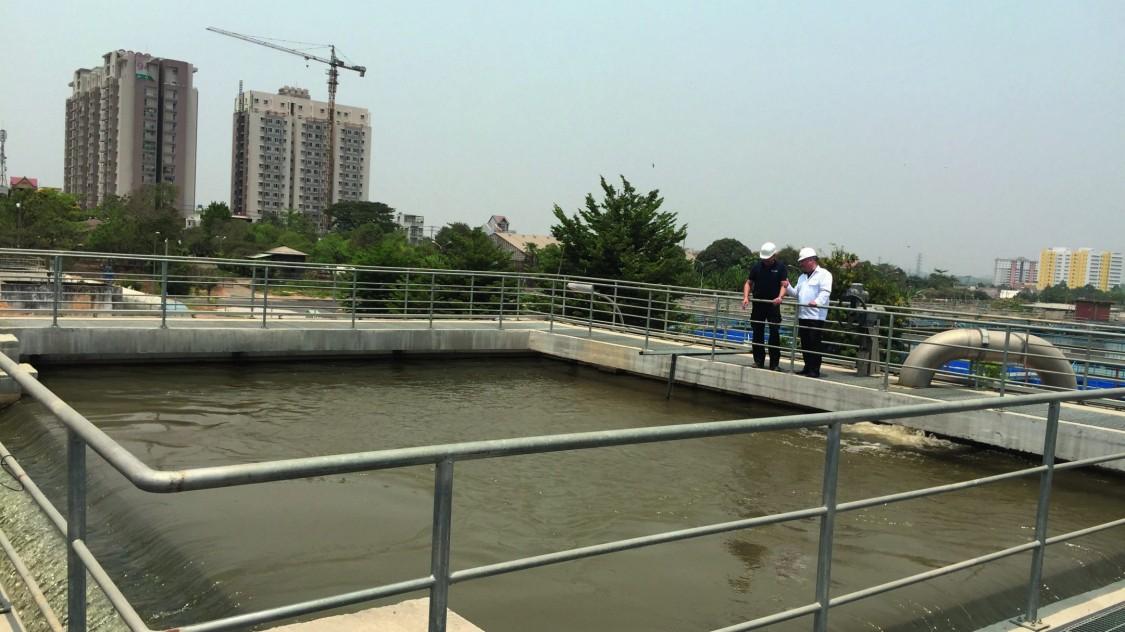 Trinkwasseraufbereitungsanlage SWIC / PE&E Vietnam