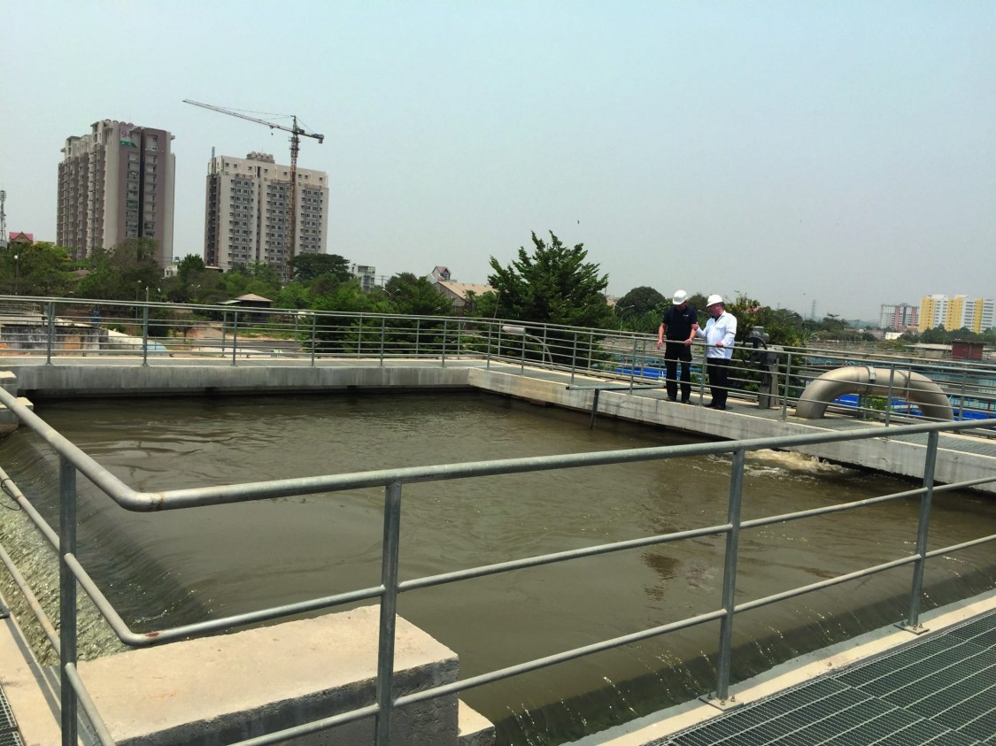 Drinking water treatment plant SWIC / PE&E Vietnam