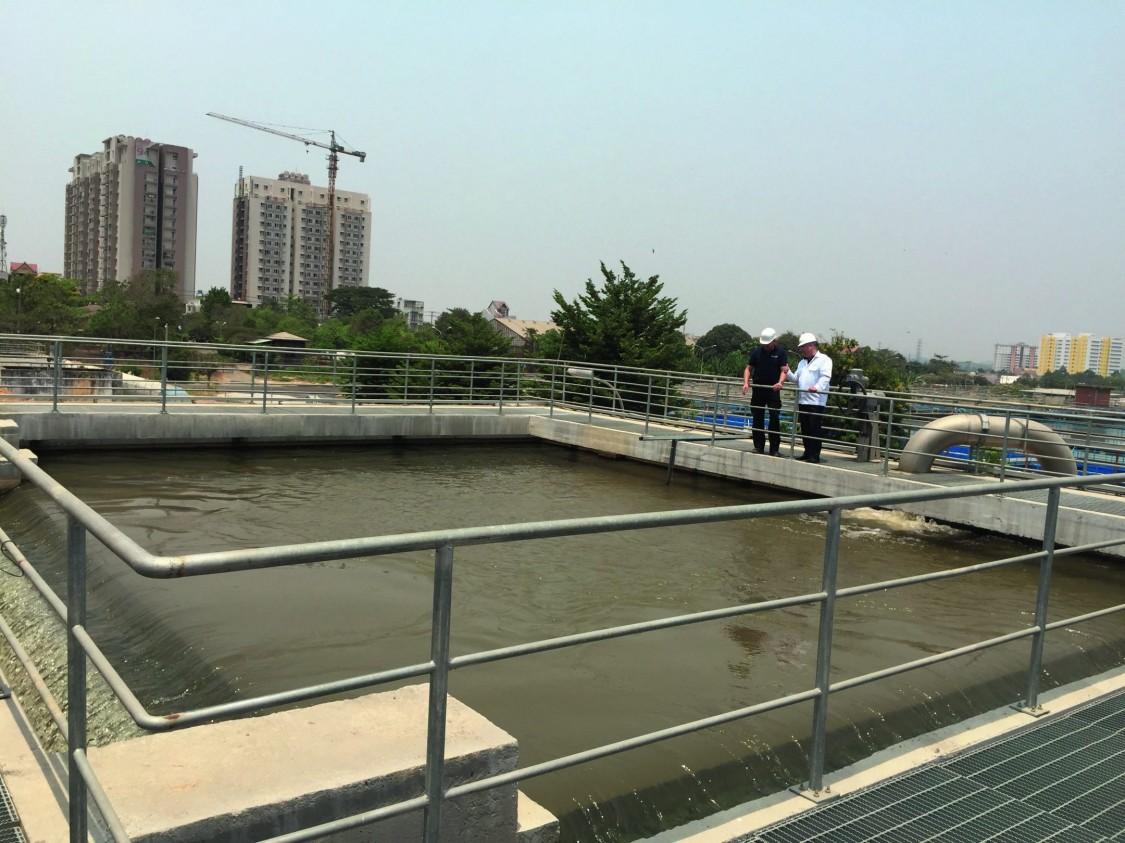 Drinking water treatment plant SWIC / PE&E Vietnam