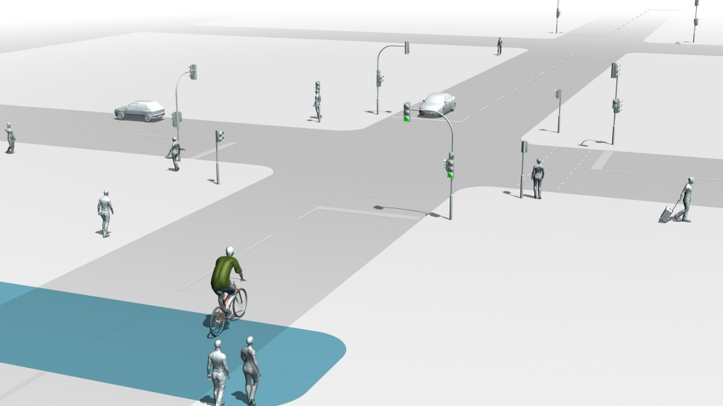 'Green wave' for cyclists