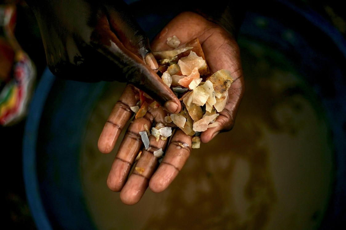 Verantwortliche Beschaffung von Mineralien
