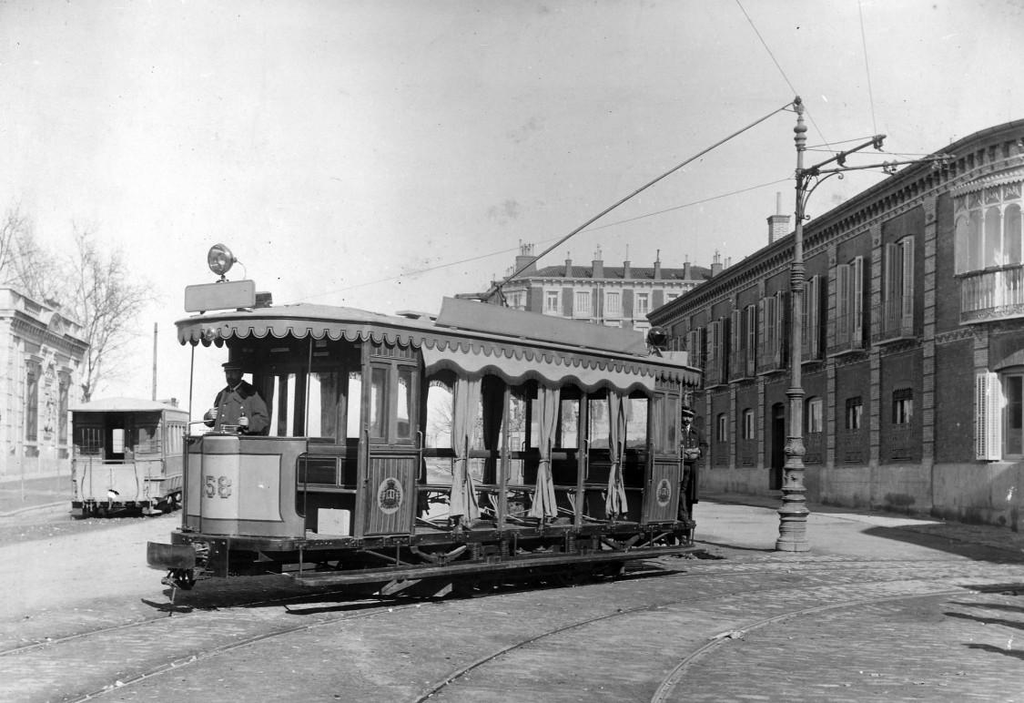 El tranvía eléctrico de Bilbao