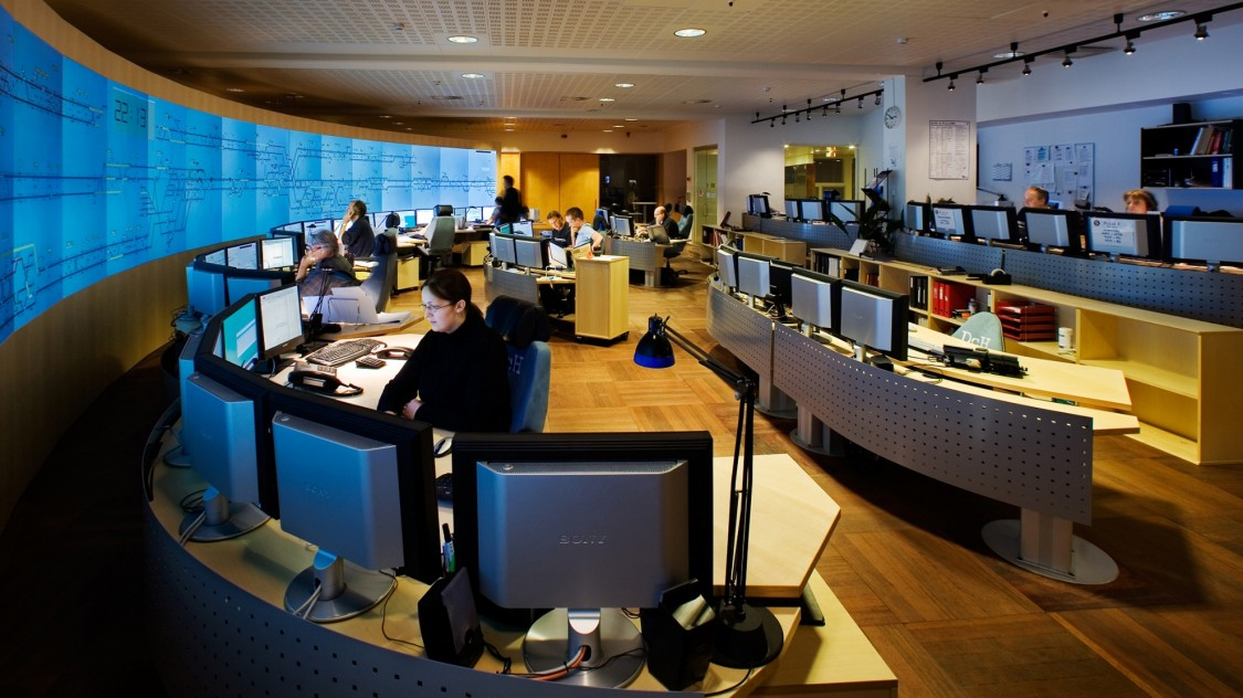 Rail control center Kobenhavn