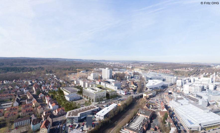 Luftaufnahme Stuttgart-Zuffenhausen