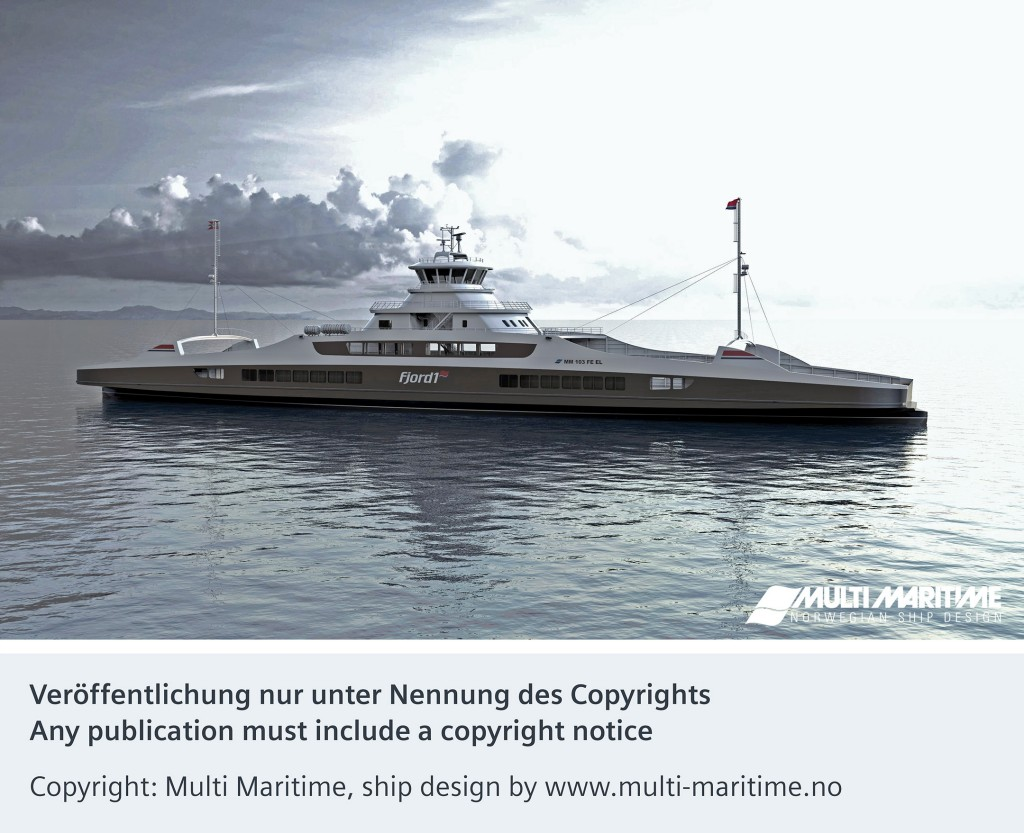 Siemens wins third electric ferry contract