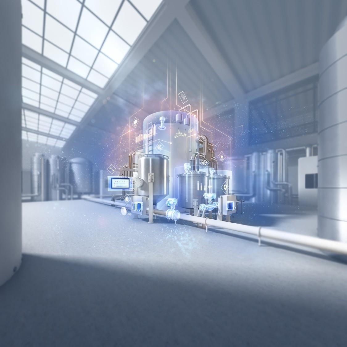 Industrial Edge für Anlagen der Prozessindustrie ebnet den Weg zu autonomem Asset Management und Prozessoptimierung