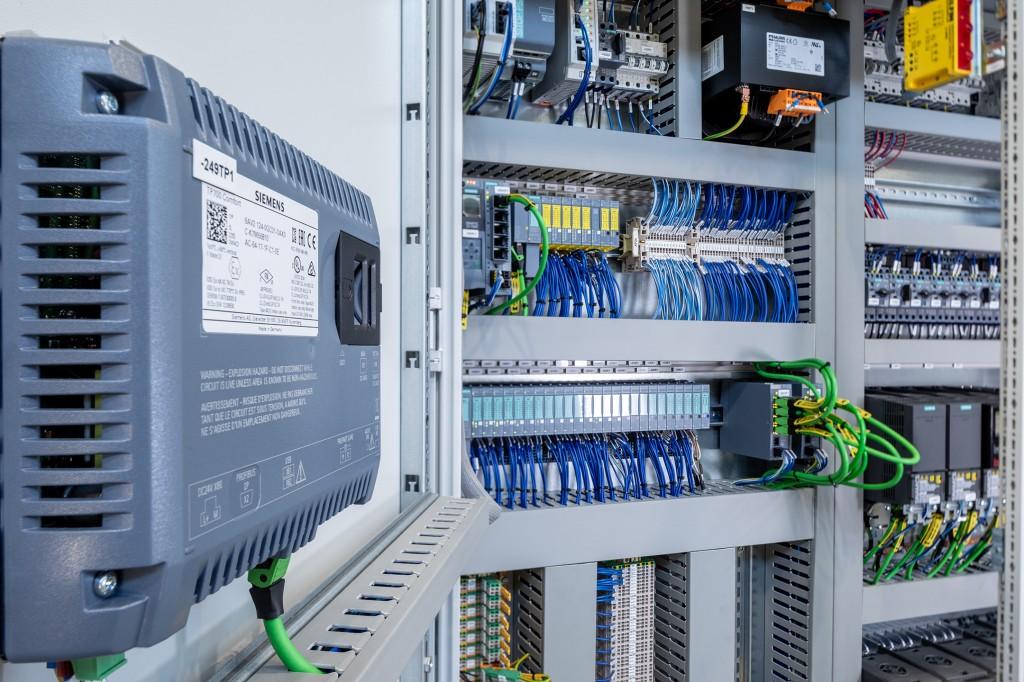 Für eine optimale Projektierung das Engineering-Framework TIA (Totally Integrated Automation) Portal von Siemens zum Einsatz