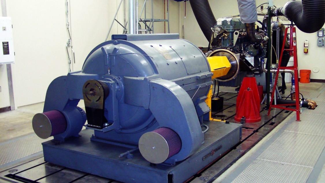 detroit diesel test stands