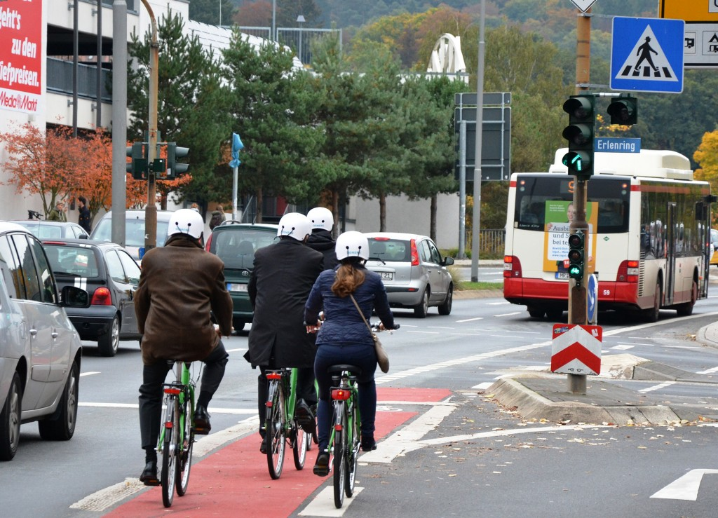 Thanks to SiBike, cyclists in Marburg, Germany, can reach their destination sooner