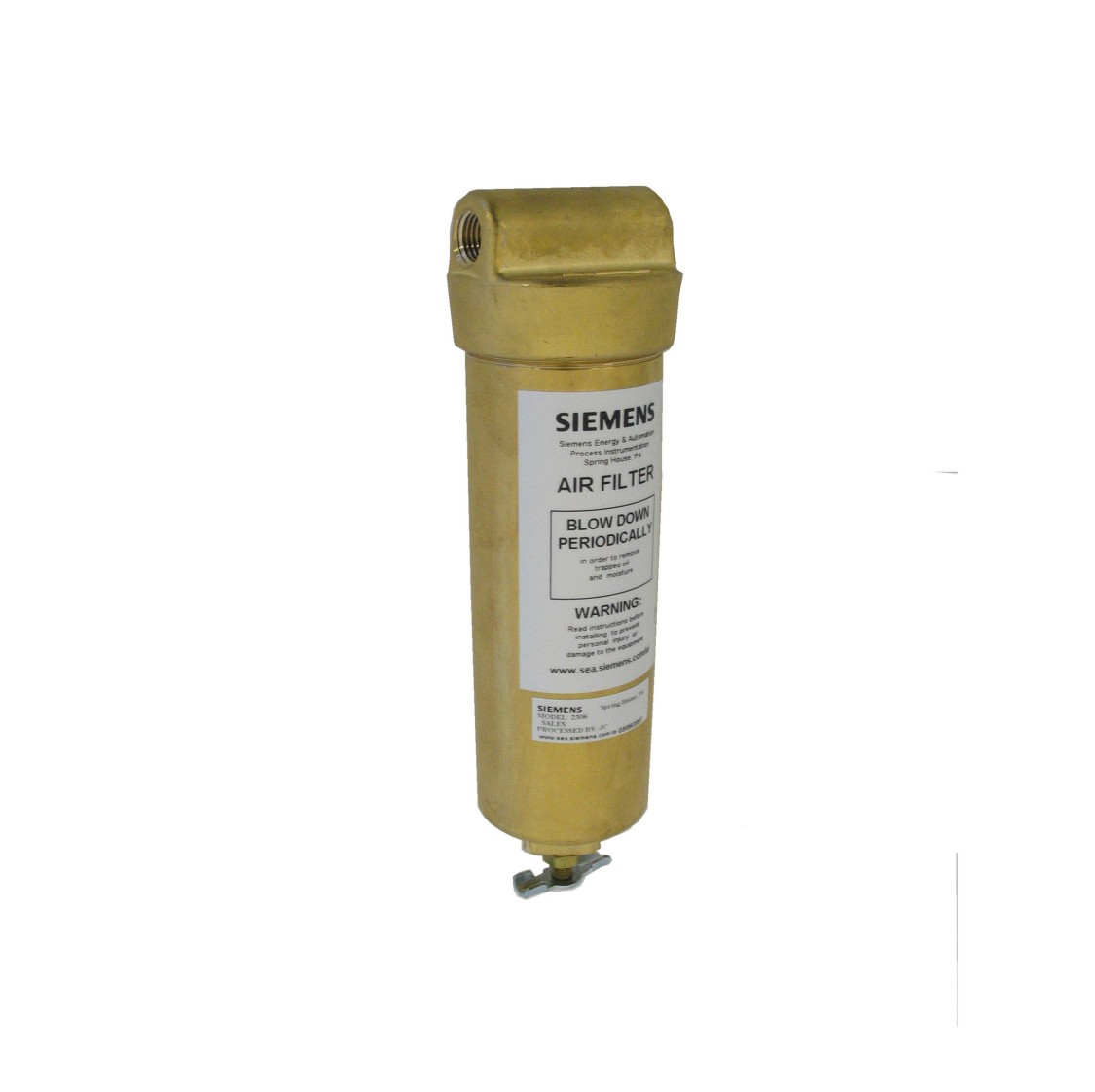2306 Instrument Air Filter