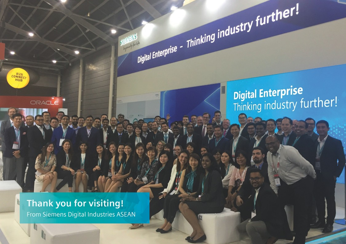Thank you for visiting Siemens @ITAP 2019