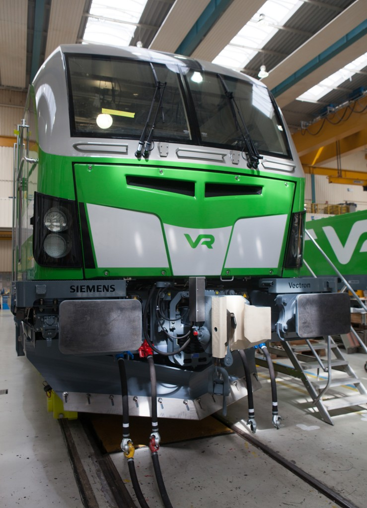 Siemens delivers locomotives to Finland