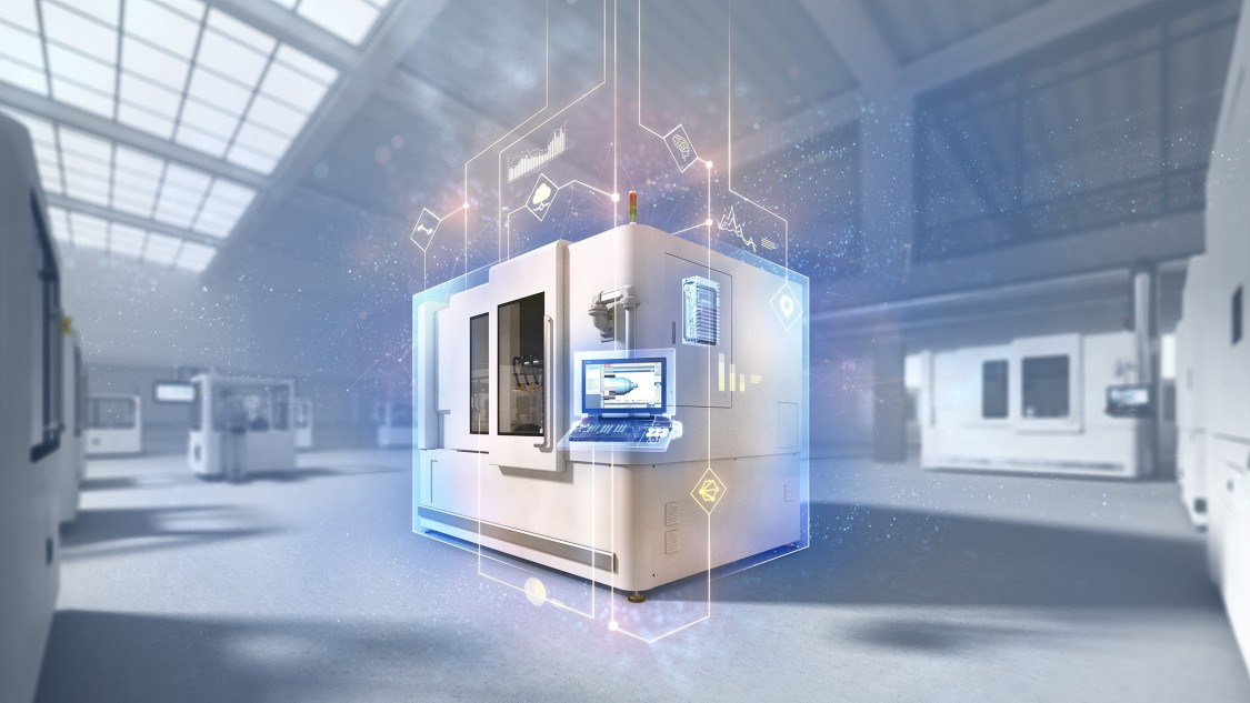 Key Visual Industrial Edge for machine tools