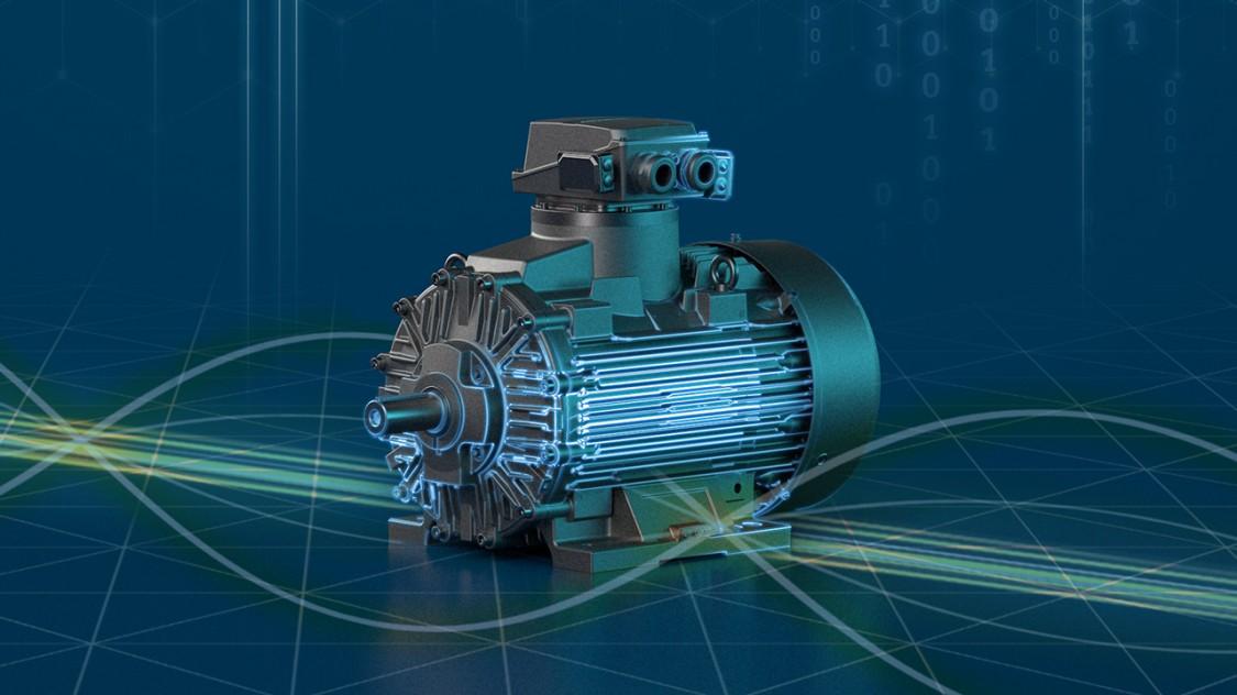 A SIMOTICS XP motor