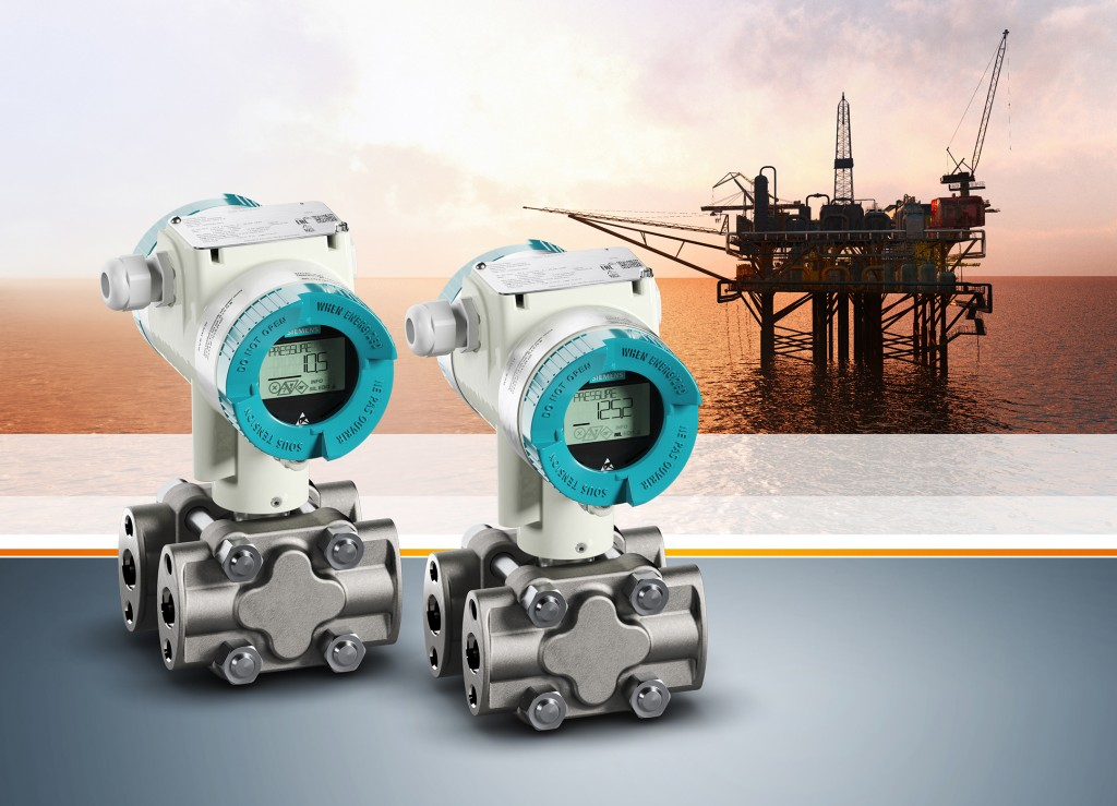 The picture shows the pressure transmitter Sitrans P320/420 from Siemens.
