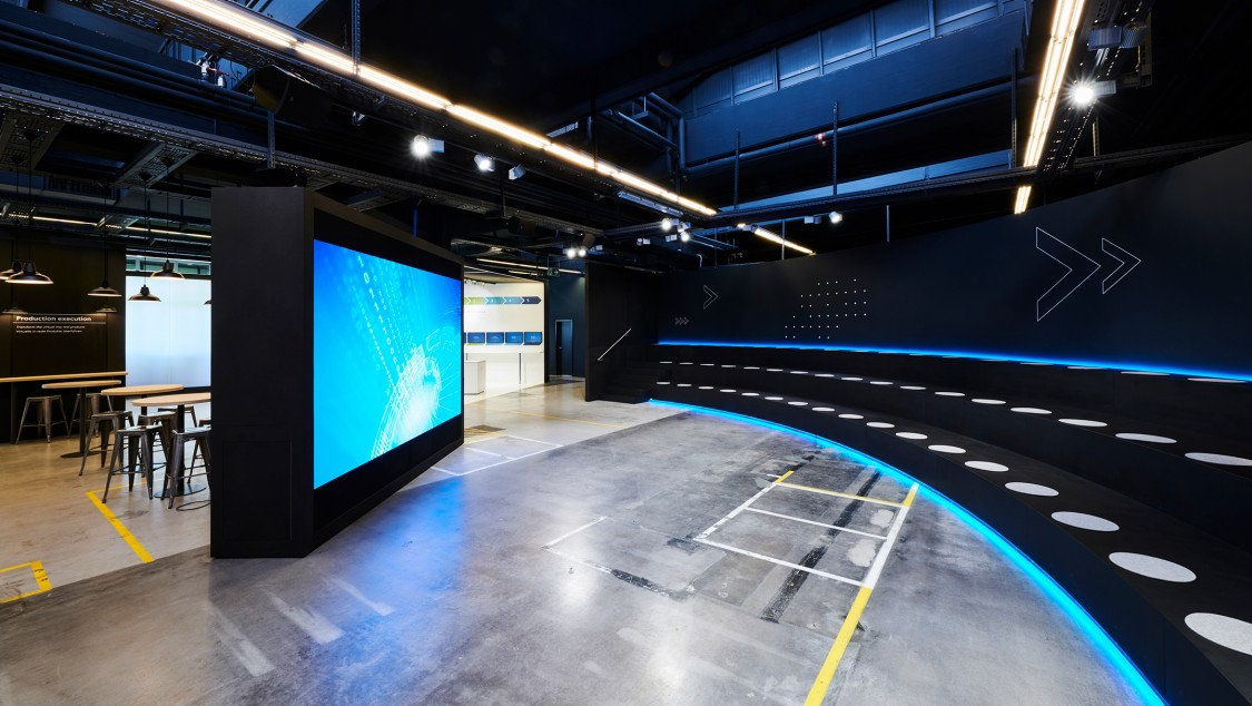 Inside view of Arena of Digitalisation