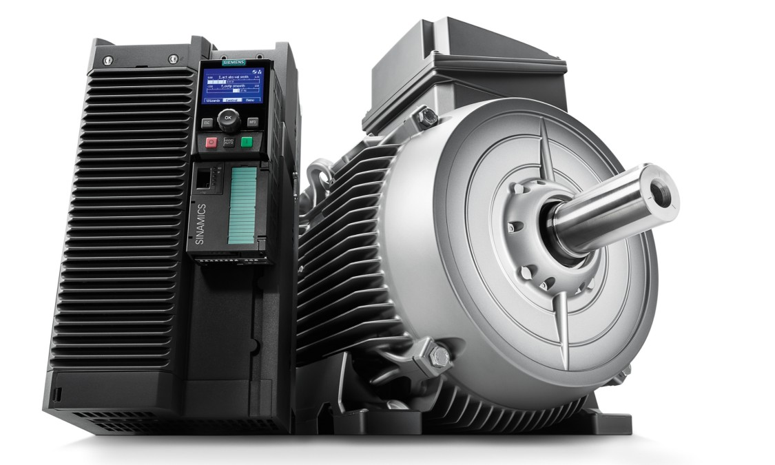 Перетворювачі частоти, електродвигуни, муфти і редуктори Siemens
