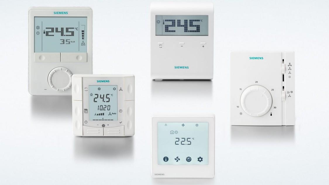 Portfolio produktů pro domácí termostat