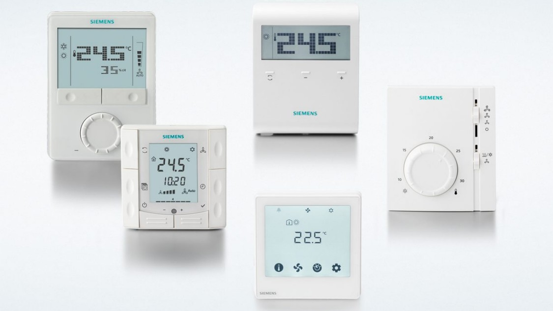 Room thermostat family