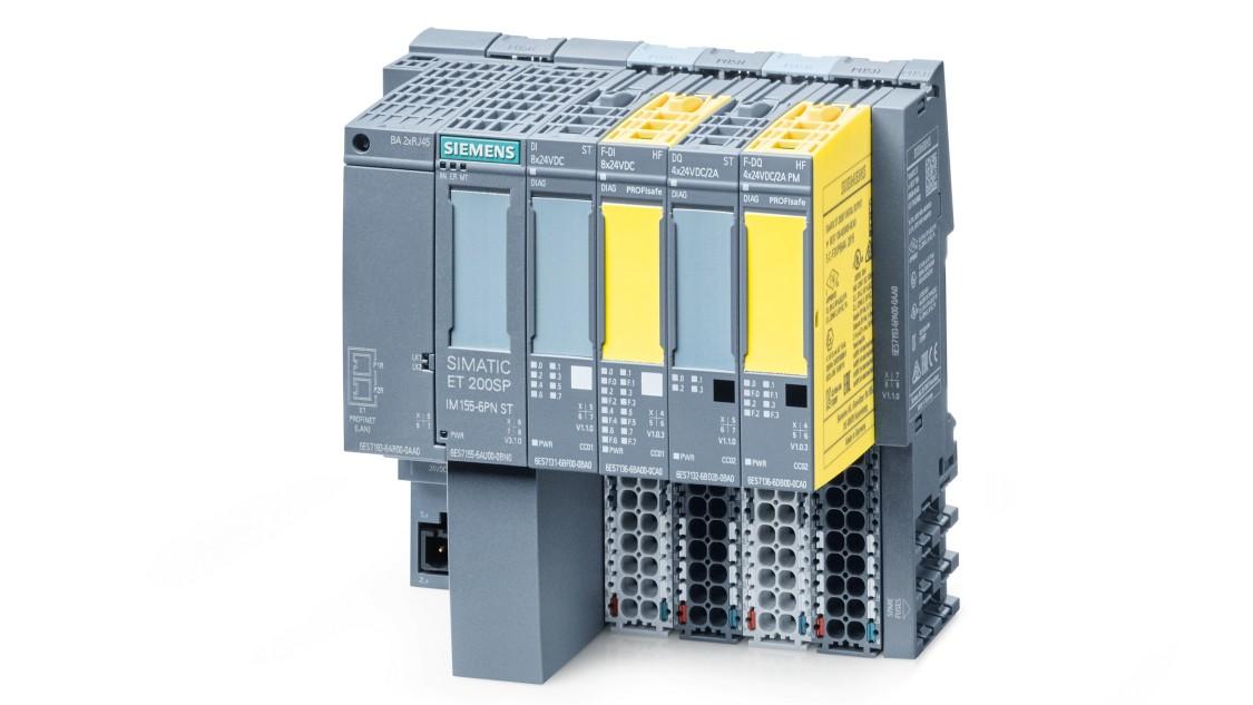 SIMATIC ET 200SP Station mit fehlersicheren Modulen