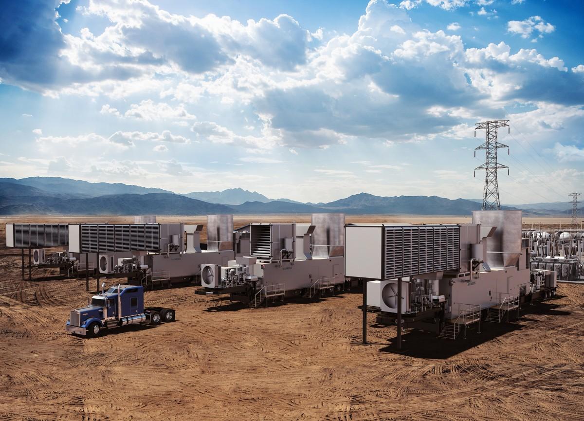 Schnelle Energie für dringenden Strombedarf – neue 44-Megawatt-Gasturbine zur mobilen Stromerzeugung