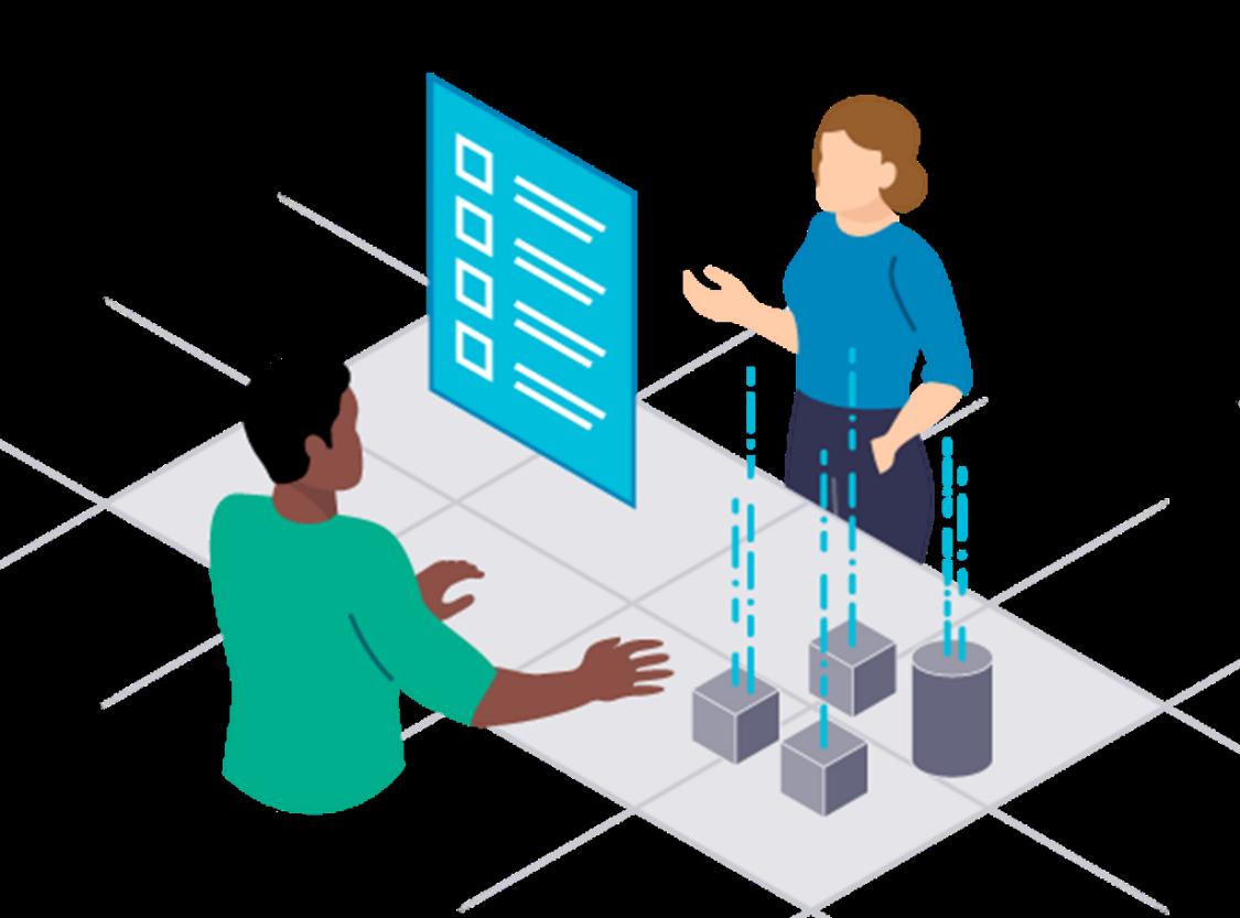 Vizendo Virtual Training Solutions beginnt mit einer gemeinsam mit dem Kunden durchgeführten Bedarfsermittlung