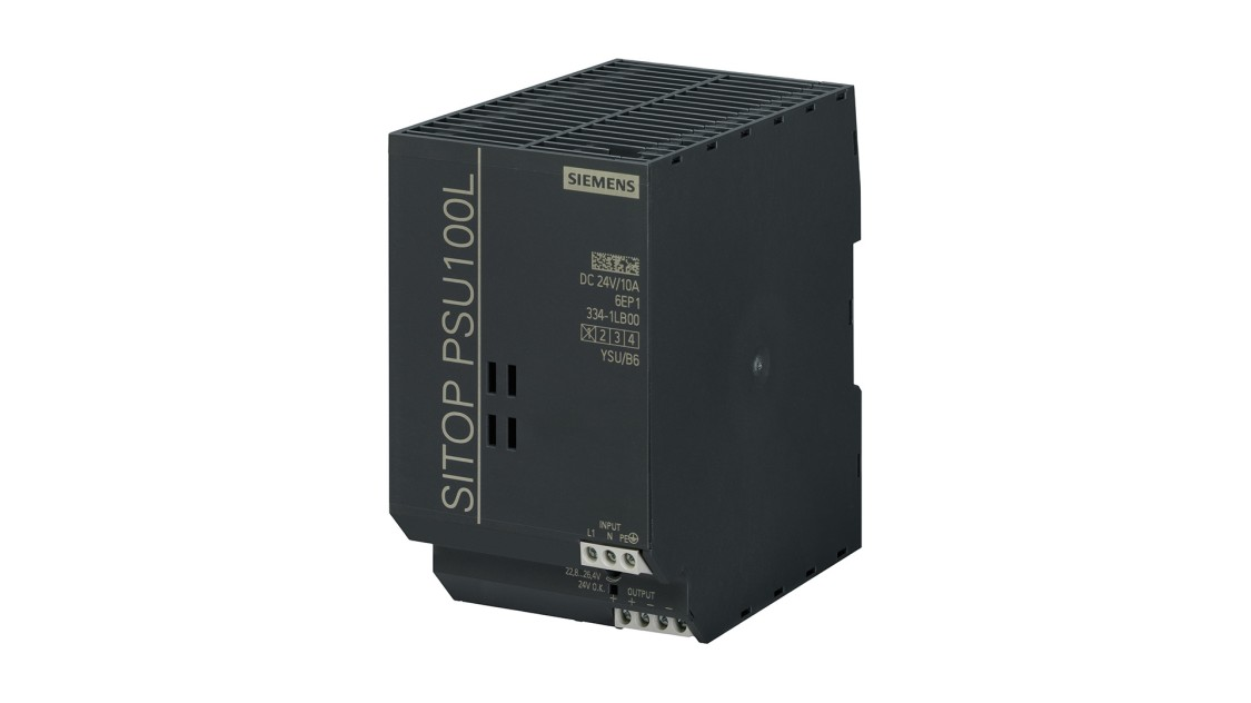 Product image SITOP PSU100L, 1-phase, DC 24 V/10 A